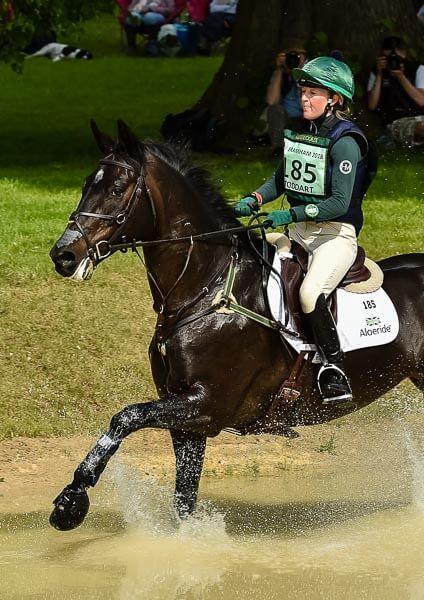 Eliza Stoddart and PRIORSPARK OPPOSITION FREE, Equitrek Bramham Horse Trials 2018