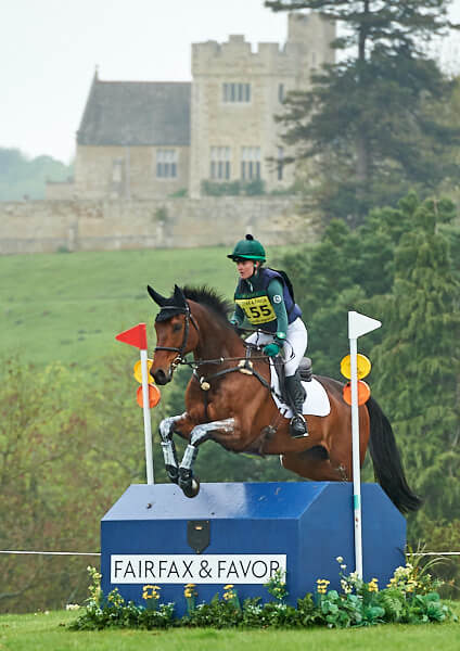 Eliza Stoddart and the Saunders-Watsons' CLIFFORD, Rockingham Castle Horse Trials